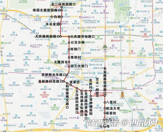 156路运行图