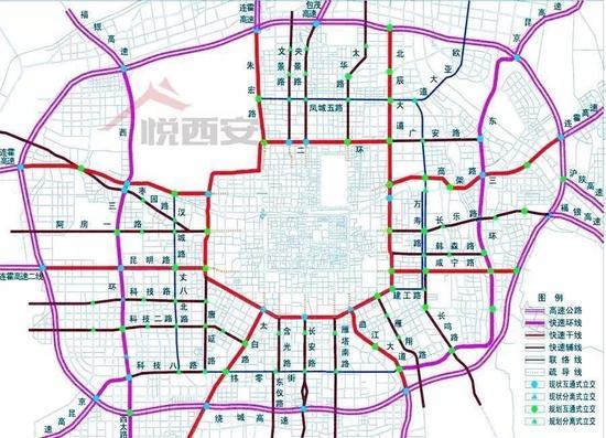 西安高新区三期规划图_西安高新区三期规划