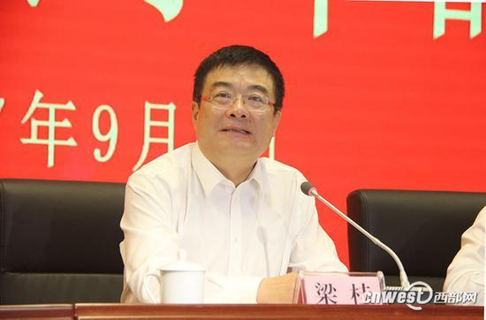 省委常委、常务副省长梁桂出席并讲话