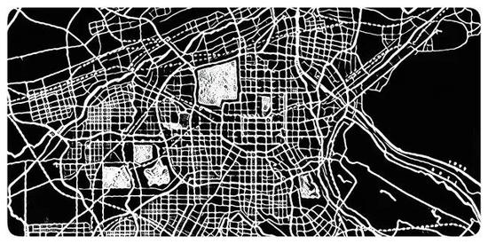 西安各区划分图地图