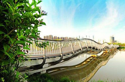 """西安浐灞生态区实践""""绿色发展"""" 开启""""风景生产力"""""""