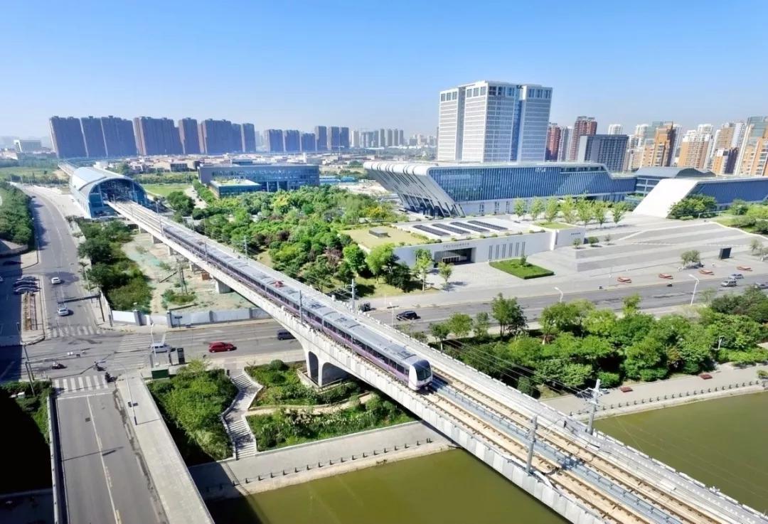 浐灞生态区北辰东路已经全面完工并开放交通