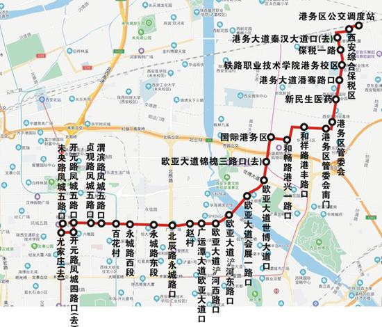 248路运行图。