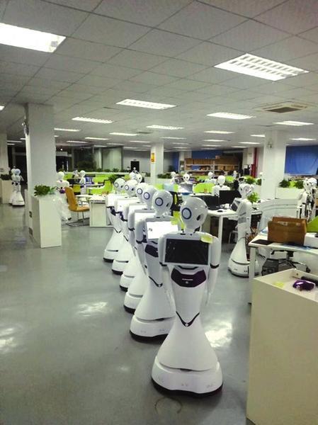 高陵以优质的服务吸引西安中晶智能机器人科技有限公司落户。资料图片