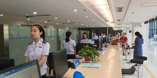 办税服务厅内部