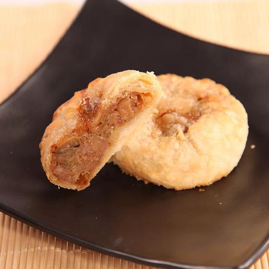网售的榨菜肉月饼。