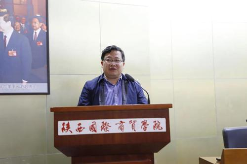 绍兴市柯桥区人社局副局长俞锡锋发表讲话