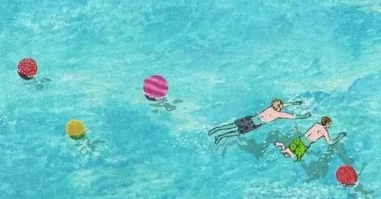 去灞河野泳 对不起 不约