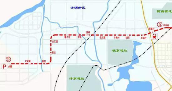 起始:西起和平村站,东至纺织城火车站