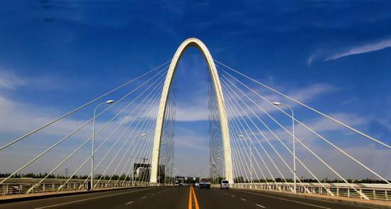 浐灞2号斜拉桥