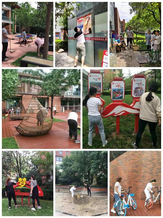未央区各部门、街道、社区广泛开展建党98周年系列活动