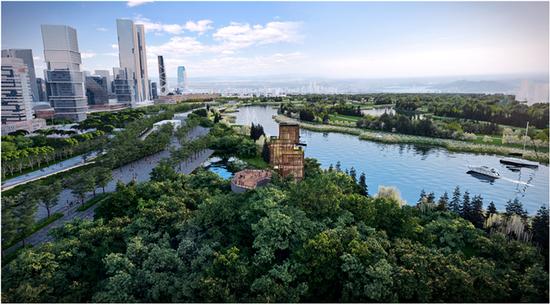 """泾河新城""""院士谷""""规划设计被授予2020绿色城市规划设计奖"""