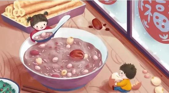 工行温度――腊八暖粥,暖人更暖心