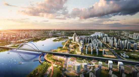 泾河新城未来规划图