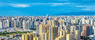 蓬勃发展的西安高新区(资料图片) 记者窦翊明摄