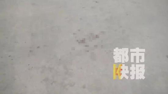 (事发现场遗留下的痕迹)
