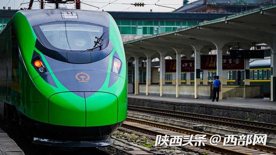 """西安韩城""""绿动车""""新增合阳停靠站点 停靠时间公布"""