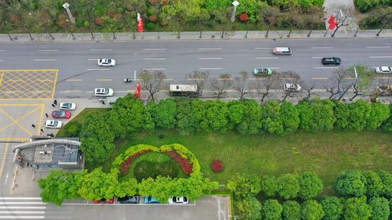 """西安高新区绿化景观提升工程:因地制宜描绘""""城市底色"""""""