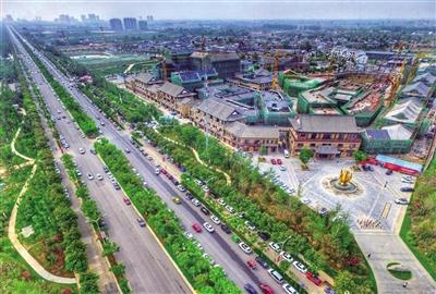 """未来3年贯通48条路 泾河新城布局""""三纵四横""""骨干路网"""