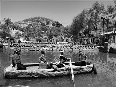 """榆林佳县""""旅游+扶贫""""助农民增收 贫困村成了示范村"""