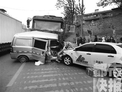 事故现场 (图据陕西电视台)