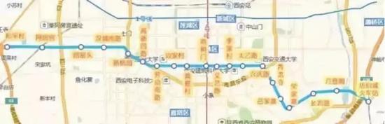 |地铁5号线一期线路图|