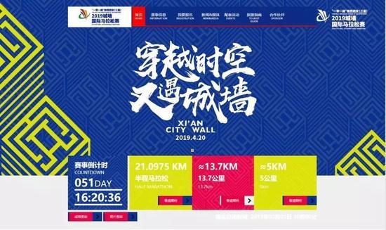 今日10时,2019西安国际马拉松赛报名开启