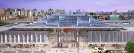 未来西安火车站效果图