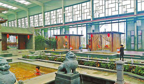 温泉旅游成为人们冬日休闲度假的好方式。