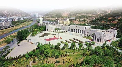 延安革命紀念地。新華社 記者劉瀟