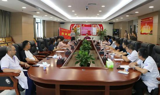 渭南市第二医院举办职工子女高考