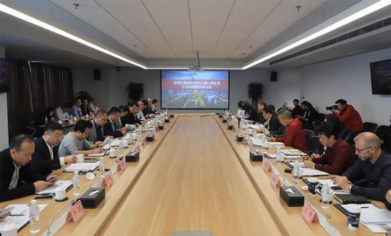 能源金贸区举行沣渭三角洲及世纪大道以南区域产业发展策划研