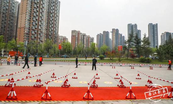 曲江一中初三学生开学复课备战中考
