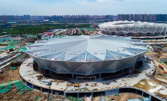 ▲西安奥体中心·体育馆 施工图