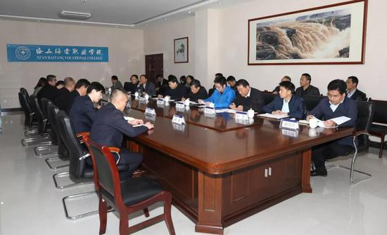 市人大常委会副主任李宁君调研西安海棠职业学院西安市重点工程项目建设情况