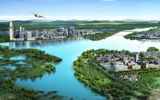 西安航空基地:打造绿色工业园区