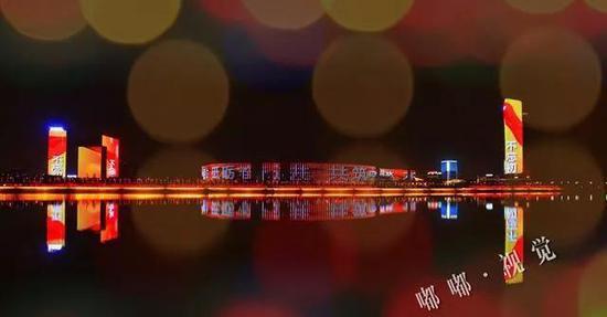 """西安年·最中国丨来浐灞生态区赴约一场""""魔法星尘""""的盛典"""