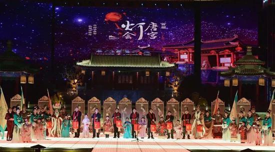 热闹中国年 2018首届华清宫唐宫灯会盛大启幕