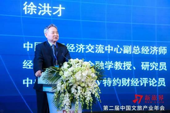 徐洪才 中国国际经济交流中心副总经济师、著名经济学家