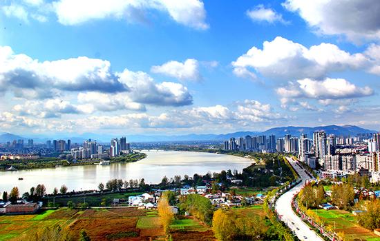 汉中市城市建设规划图