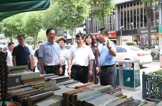 西安市委常委、宣传部部长张琳到雁塔区调研