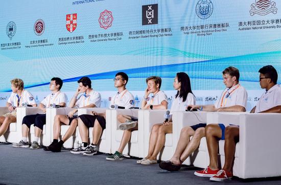 2018第二届昆明池国际名校赛艇对抗赛国际名校大学生论坛成功