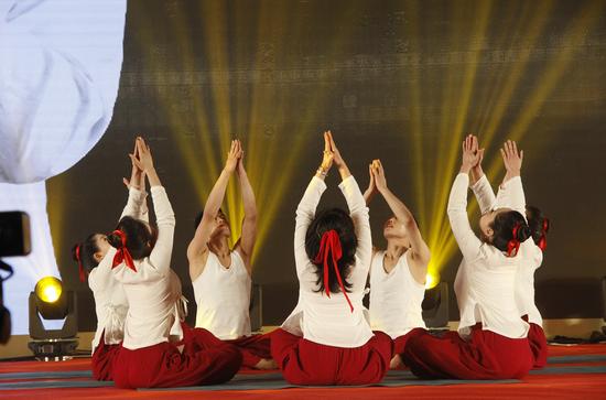 """""""舞动瑜伽 醉美中国年""""节目将登陆2021陕西教育文化春晚"""