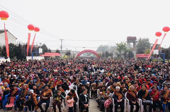 央视栏目组选景水城·三国小镇录制重阳节目