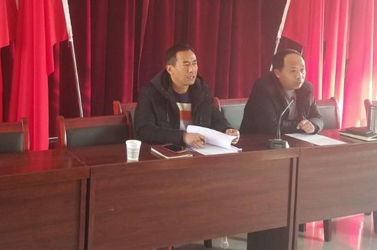 周至县统筹办组织召开2018年度农村片区化中心社区建设项目政