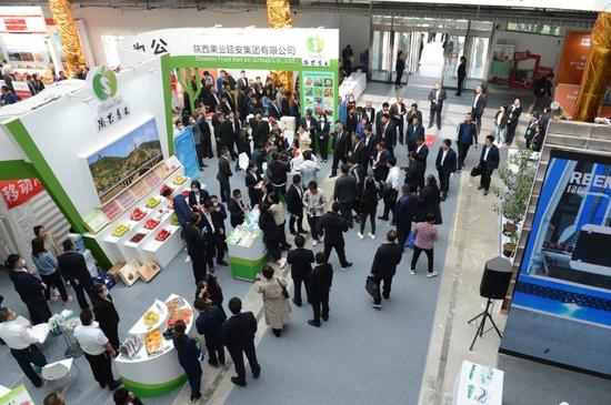 第十三届中国?陕西(洛川)国际苹果博览会开幕