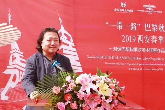 中国国家画院副院长纪连斌