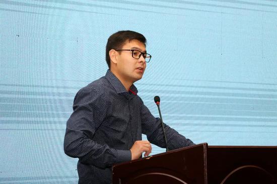 土库曼斯坦物流运输中心驻中国代表进行推介