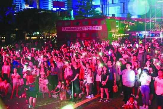 2019嘉会坊第二届国际音乐啤酒节引爆盛夏狂欢夜