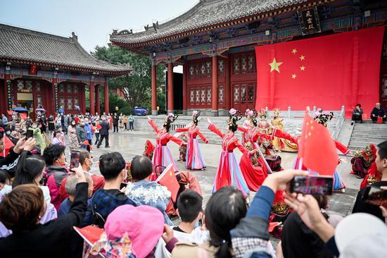 国庆中秋佳节同庆  华清宫多项活动精彩纷呈